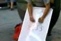 Borec - Malování oběma rukama