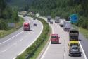Polsko - Záběry ze silnic a dálnic