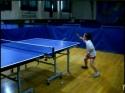 Borec - Holčička a hraje pinpong