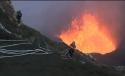 Výbuch vulkánu