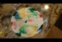 Umění - Talíř mléka