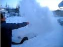 Vytvoření sněhové mlhy