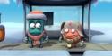 Animace – Autobusová zastávka