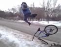 Idiot – skok na kole