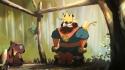 Animace - Král a bobr
