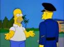 Simpsonovi - Americký voják