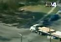 Policejní honička s kamionem