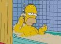 Simpsonovi - Homer ve vaně