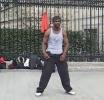 Borec - tanec v ulicích Paříže