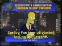 Simpsonovi - Homer prezidentem
