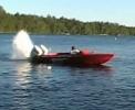Borec - frajeřinky s motorovým člunem