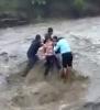 Nebezpečné přecházení řeky