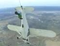 Nástup do letadla za letu