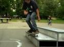 Slow motion - Skateaboard a pády