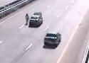 Idiot - oprava auta na dálnici