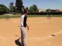 Parádní baseballová exhibice
