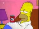 Simpsonovi - břišní svaly