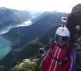 Létající oblek - Wingsuit - Norsko
