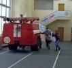 Borci - trénink hasičů