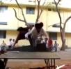 Největší blbci - skoky přes překážky