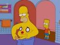 Simpsonovi - Homer a bříško