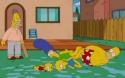Simpsonovi - rodinka v bazénu