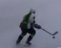 Borec hokejista - geniální trik