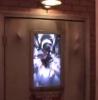 Strašidelné dveře