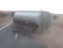 Driftování s cisternou