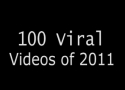 100 nejsdílenějších videí roku 2011