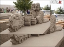 OBRÁZKY - Úžasné výtvory z písku 7