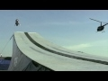 Skok na sněžném skútru– 110 metrů