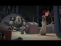Animace - Dívka a robot