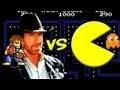 Chuck Norris versus Pacman