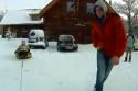 Extrémní snow tubing