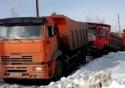 Ruský vs. čínský náklaďák
