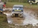 Jeep v bahně