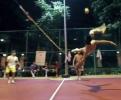 Takhle hrají borci nohejbal v Thajsku