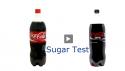 Coca Cola vs Cola Zero - obsah cukru