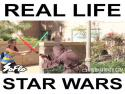 Star Wars naživo