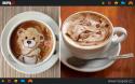 GALERIE - Obrázky nakreslené v kávě