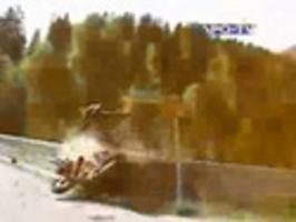 Hloupá nehoda na motorce