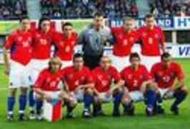 Fotbal: Česká republika - Holandsko 2004