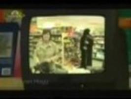 Smrtka v obchodě [skrytá kamera]