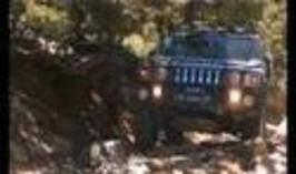 Hummer - zlomená poloosa