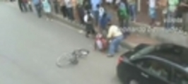 Nehoda - cyklista vs. auto