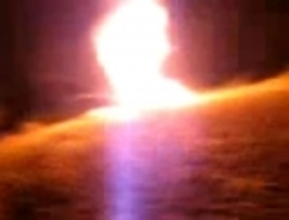 Výbuch – propan butanová láhev 0,5l