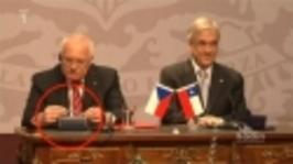 Václav Klaus a pero z Chile - jak to začalo