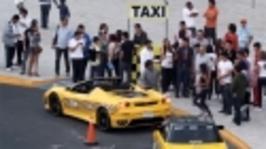 Španělská taxislužba