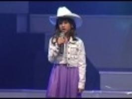 Jódlování 6leté zpěvačky
